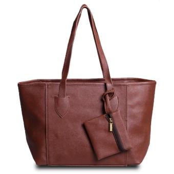 QuincyLabel Tote Bag Giselle - Cokelat Tua