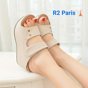 R2 Wedges Creamy Cream