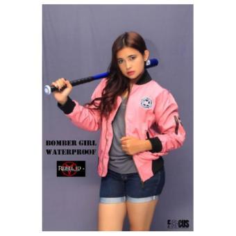 Rebel id bomber cewe pink