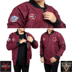 REBEL ID JAKET BOMBER WORLD DOMINATION - MARON