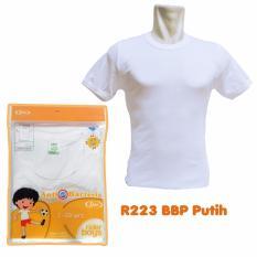 Rider Boys R223BBP Tshirt - Putih - Kaos Dalam Anak Laki-laki