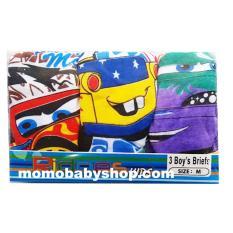 Ridges Celana Dalam Boy Size L Motif Cars 3 Pcs - Celana Dalam Anak Laki Laki