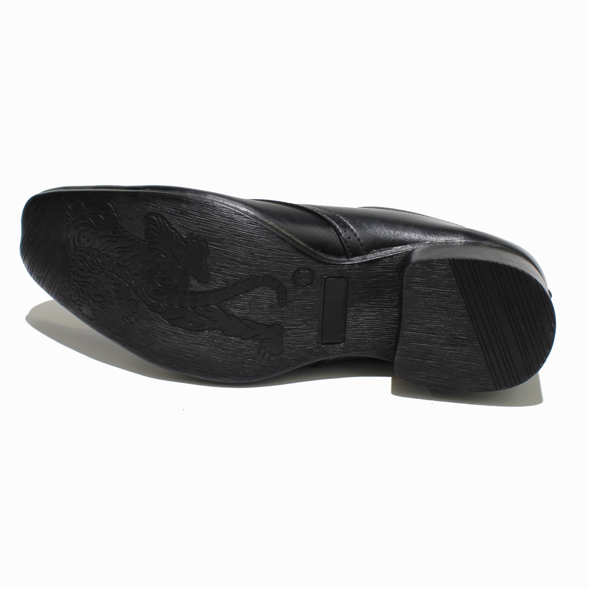 Skytop Sepatu Pantofel Karet Kerja Formal Fashion Hitam Bsm Soga 275 Boots Pria Kulit Asli Elegan Roffael A3