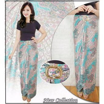 Rok lilit batik jumbo wanita long skirt Halwa