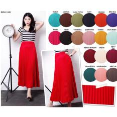 Rok Plisket / Pleated Long Skirts