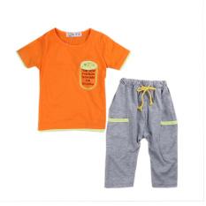 Kemeja Pants Tali Selempang Source Rorychen kasual anak anak laki laki 2 buah .