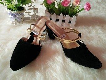RSM Sepatu Heels Wanita S-235- Hitam - 2