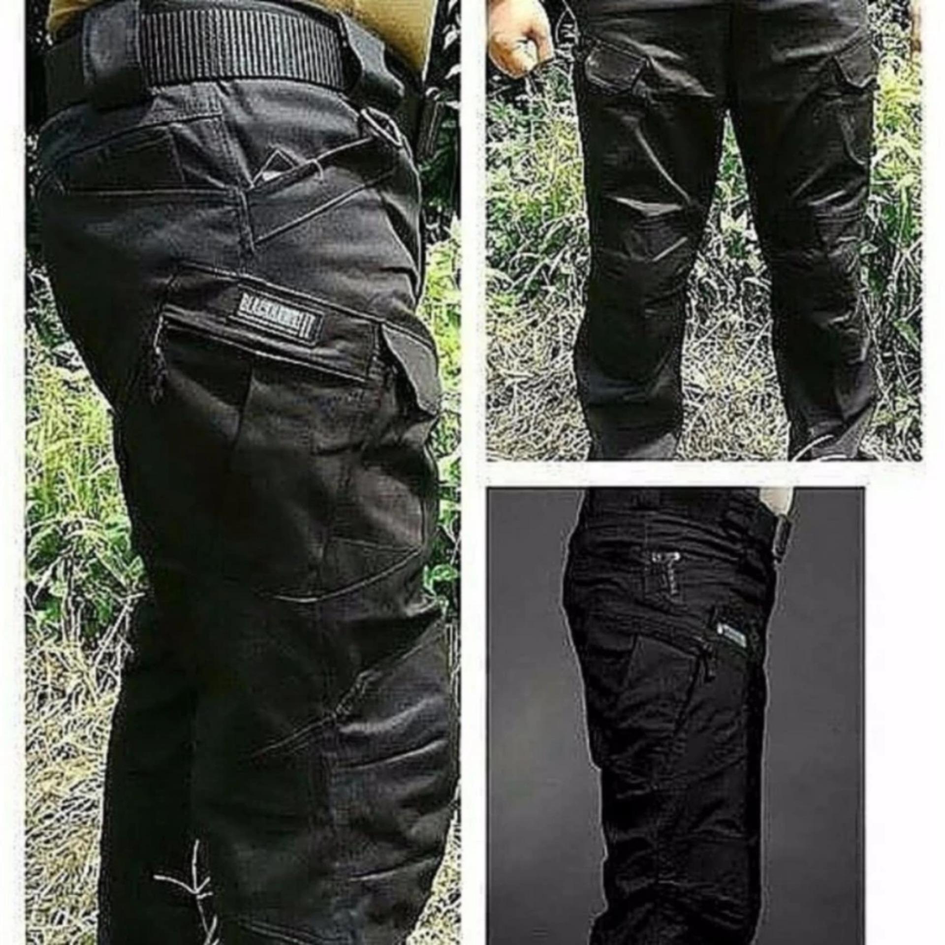 ... RXS Tactical Blackhawk Celana Panjang Pria - Hitam ...