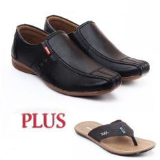 Salvo Sepatu Pria CA78 free Sandal ZR coklat