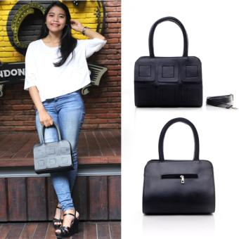 Salvora top handle bag SV09 - hitam