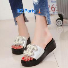 Hitam Lazada Indonesia Source R2 Paris Sepatu Sneakers Wedges Cat Miau Putih Daftar .