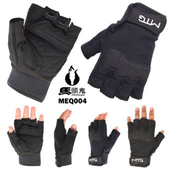 Sarung Tangan Matougui Bikers Gloves / Outdoor Sport Gloves MEQ004[HITAM]