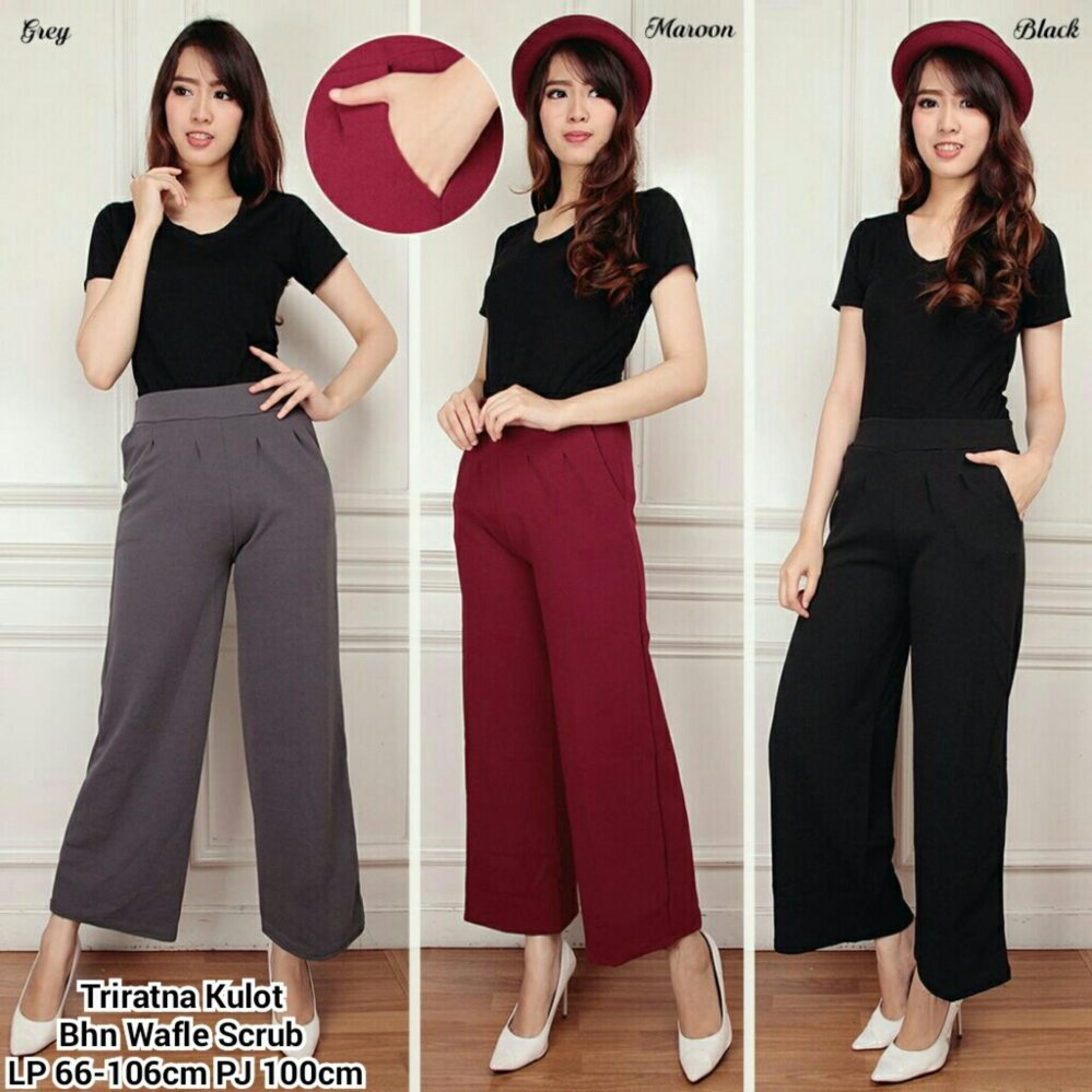 Pant Navi Daftar Harga Source · SB COLLECTION CELANA PANJANG TRIRATNA KULOT MAROON .