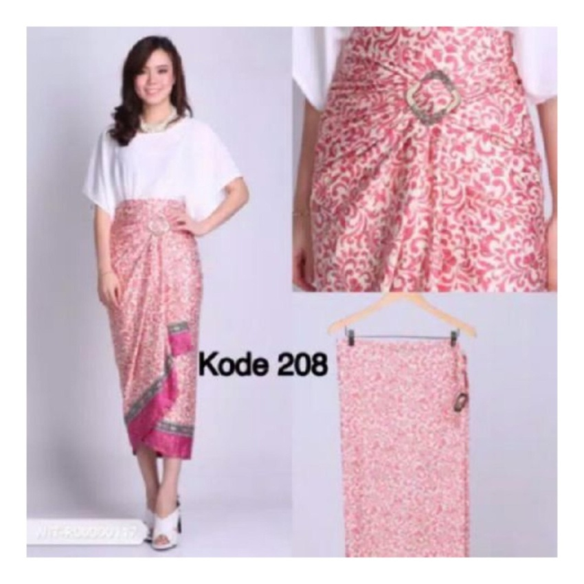 Aulia Long Skirt Pink Updated Source Jual Beli SB Collection Rok Maxi Lilit .