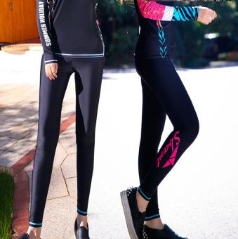 SBART Korea Fashion Style Wanita Baru Tabir Surya Surfing Pakaian Baju  Renang (Hitam diving celana d6edc8b215