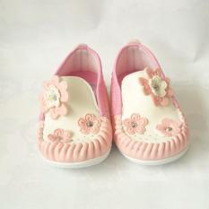Bolehdeals Berwarna Merah Muda Sepatu Balet Balita Perempuan ... - Sepatu anak balita bunyi