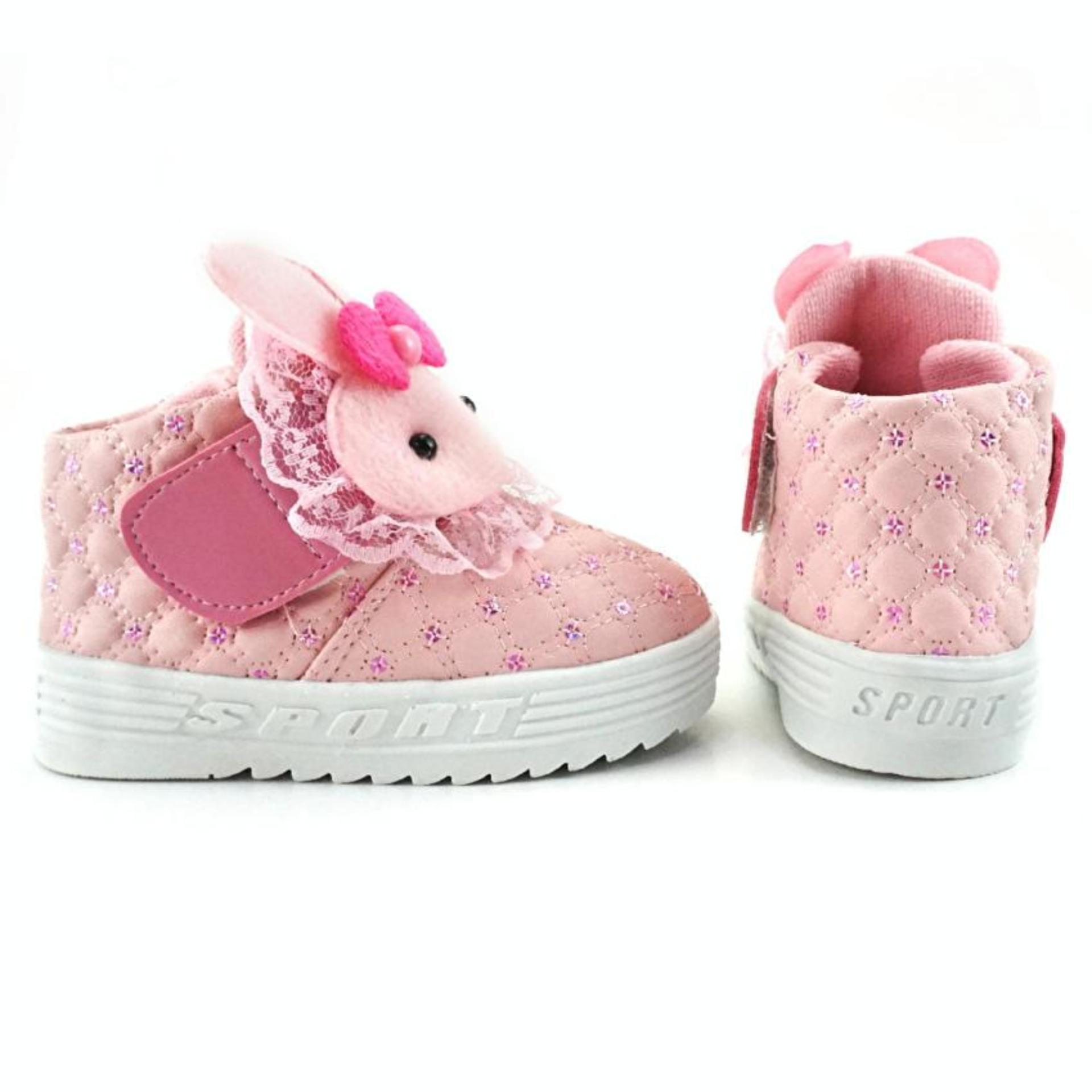 Sepatu Boot Anak Perempuan Boneka Pink Mc ..