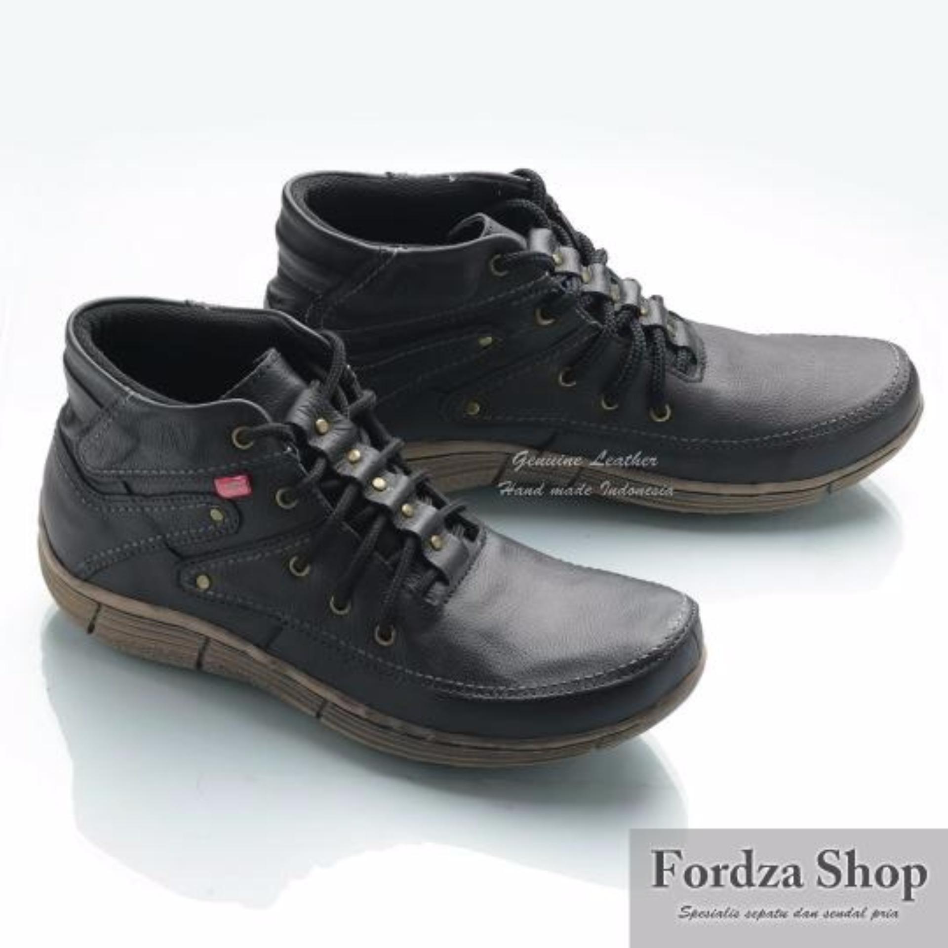 Terbaik Murah Sepatu Boot Kulit Asli Model Kickers BKS01 Belanja murah b18823396e