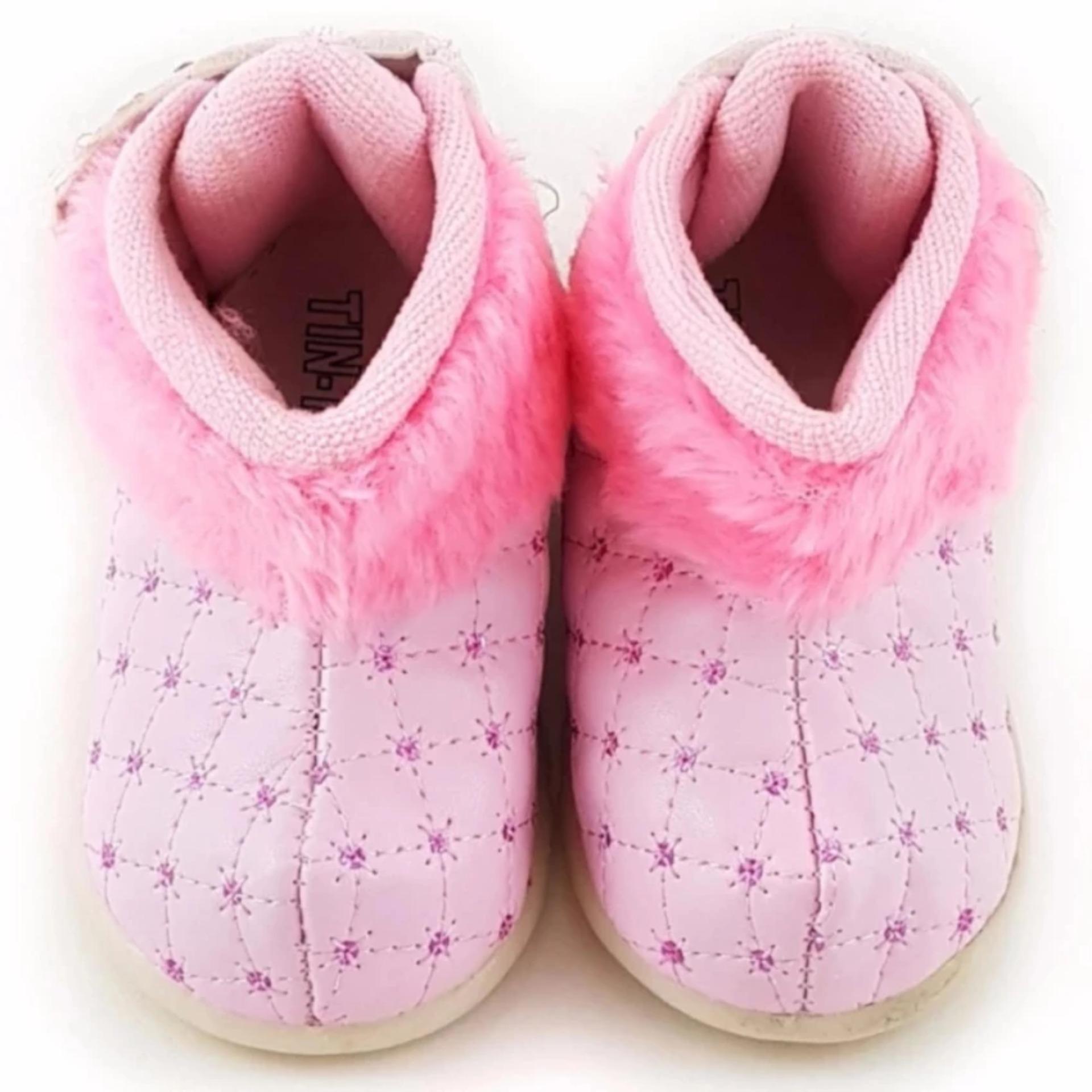 TrendiShoes Sepatu Bayi Perempuan Prewalker Glitter Mewah - Fuchsia. Source ... Sepatu Boot