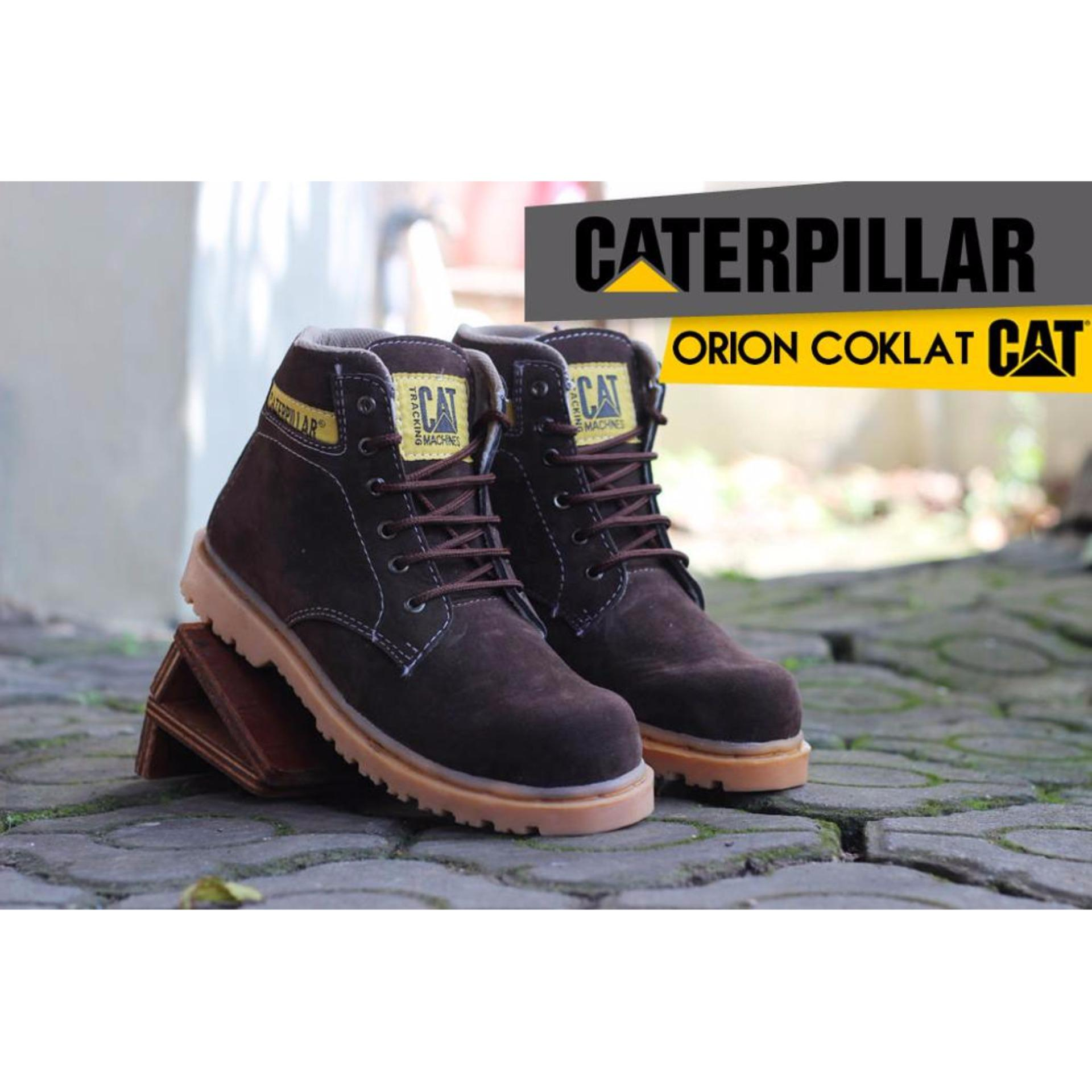 Price Checker Sepatu Caterpillar Orion Safety Darkbrown Diskon Penjualan Boots Cheap Online