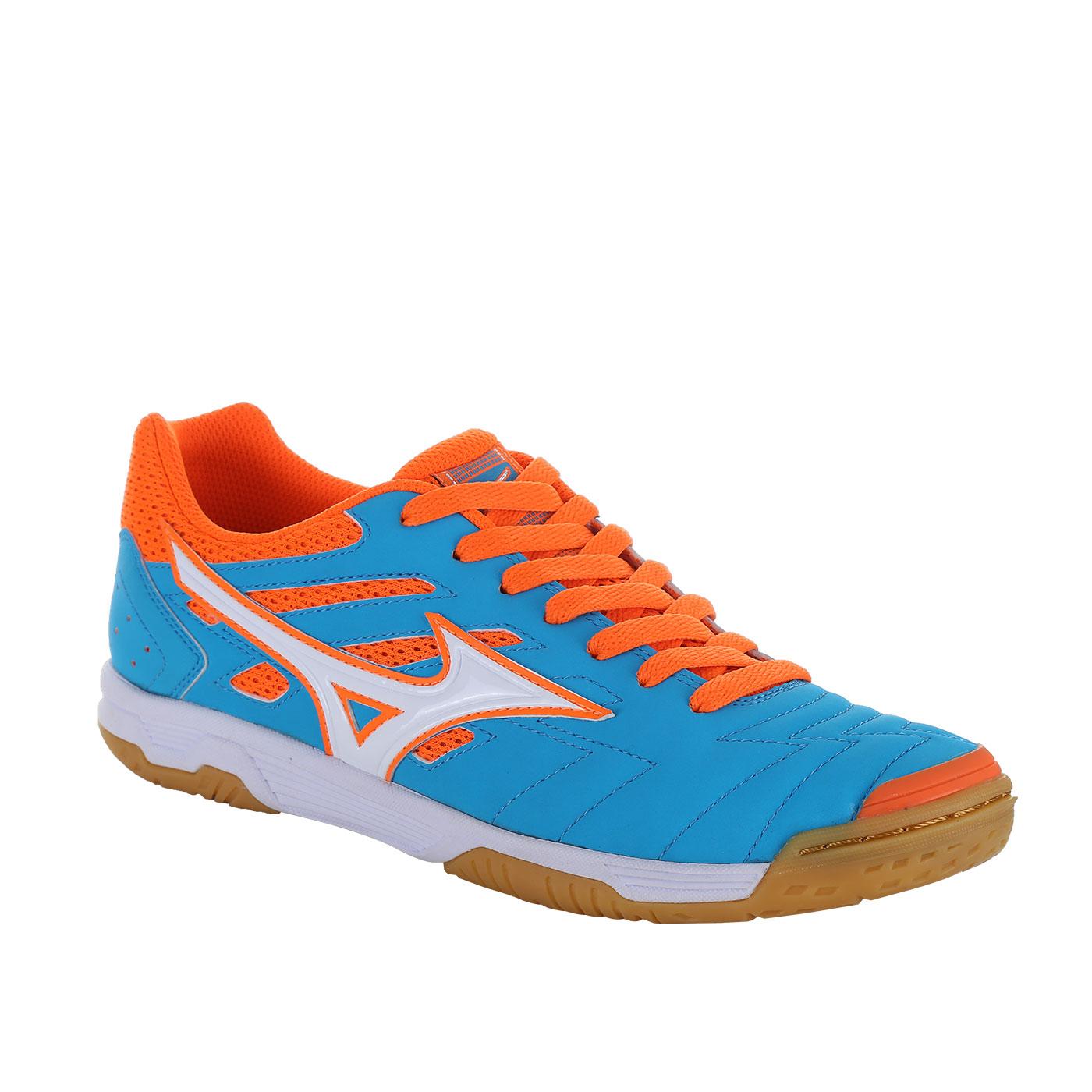 Harga Baru Sepatu Futsal Q1ga175201 Mizuno Sala Classic 2 In Biru  Ber Kualitas Putih