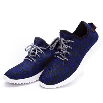 Price Checker Sepatu Kain Olahraga Pria Dan Wanita Velvet Tebal Permukaan  Jala Santai (Model laki b0f4b1a327
