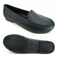 Sepatu Pantofel Wanita Pantopel Karet Untuk Sekolah Kuliah Kerja Warna Hitam