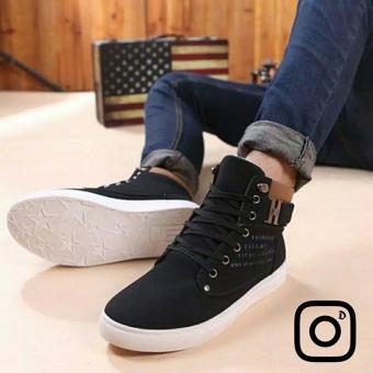 Gambar Sepatu Pria Canvas Nubuck Hitam size 44Rp.  120.000ImportHp.082281877778Pin. 8i877778 cc1b783c48
