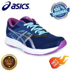 Sepatu Running Asics Fuzor Womens T6H9N-4993 - Indigo Blue Orchid
