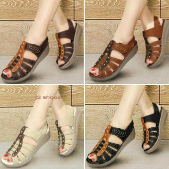 harga Sepatu Sandal Wanita Kickers Mulan 01 Terlaris Lazada.co.id