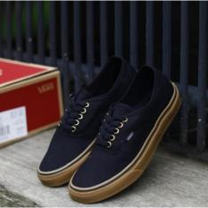 Sepatu Skateboard Vns Autentic FreeStyle - Black Gum