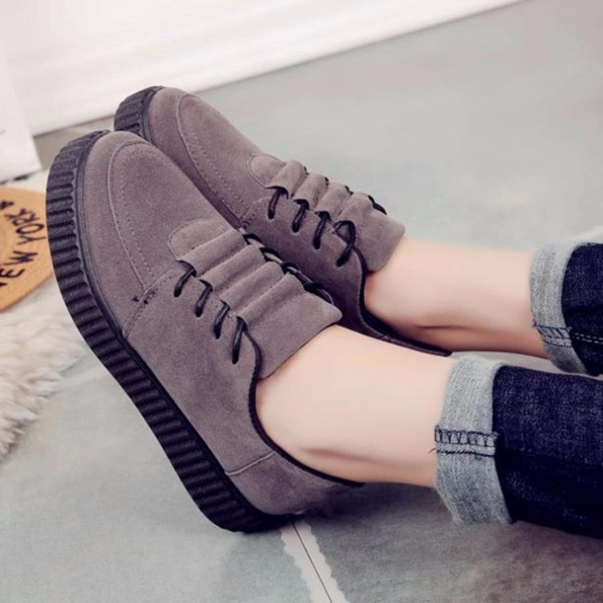 Adibamine Sepatu Sneakers Wanita Perepet Tiga - Daftar Harga ... 4b816015f3