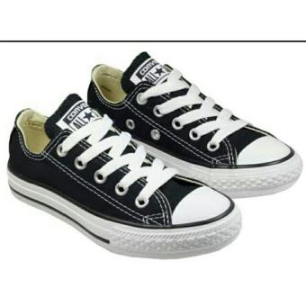 Jual Sepatu unisex All Star Low Hitam Sol Putih Online Murah - tokolinko 52b85ca0fd