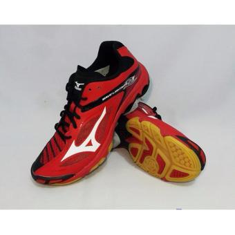 harga Sepatu voli Mizuno Wave Lightning Z3 - Merah Putih Hitam Lazada.co.id