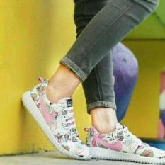Sepatu Wanita Kets Holland List Pink SDS221