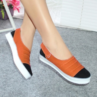 Sepatu Wanita Murah - Sneaker Coklat