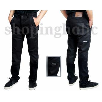 Gambar SH Celana pria chino pocket keren ( Hitam)