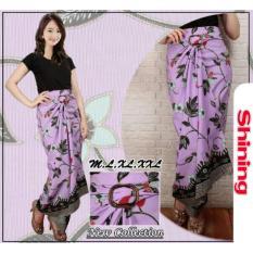 Shining Rok Lilit Shinta Batik Long Skirt-Ungu