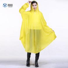 Shishang transparan sepeda motor sepeda dengan lengan jas hujan mobil listrik ponco (Mutiara dengan lengan