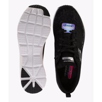 Skechers Flex Appeal 20 Break Free Womens Running Shoes Hitam ... 035d93b28a
