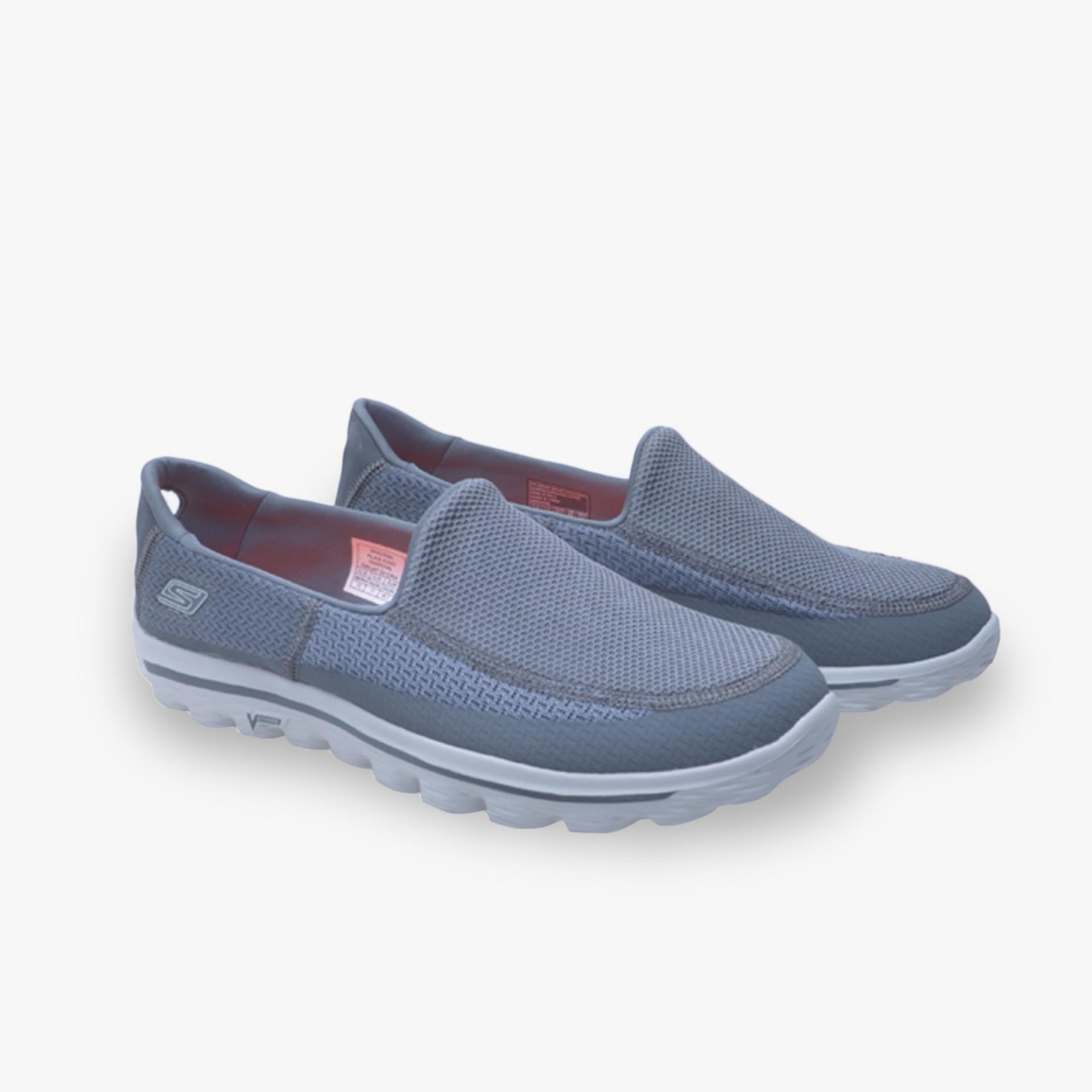 Harga Saya Skechers GOwalk 2 Men s Sneakers - Abu-abu Pelacakan Harga 6d546013f3