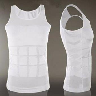 Slim N Lift Body Shaping - Pakaian Dalam Pria Pembentuk Tubuh -Putih - 5
