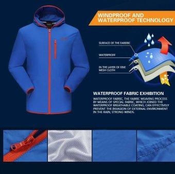 Beli Jaket Hiking Jaket Store Marwanto606 Source · SNTA Mens Outdoor Waterproof Jaket 8801 Navy 5