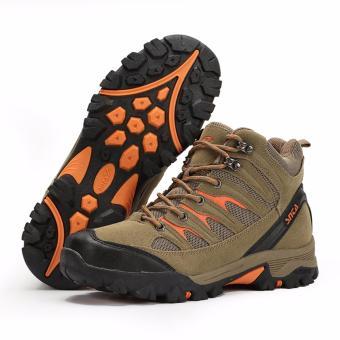 SNTA Sepatu Gunung/Hiking Sepatu Outdoor 475 - Cokelat Muda - 3