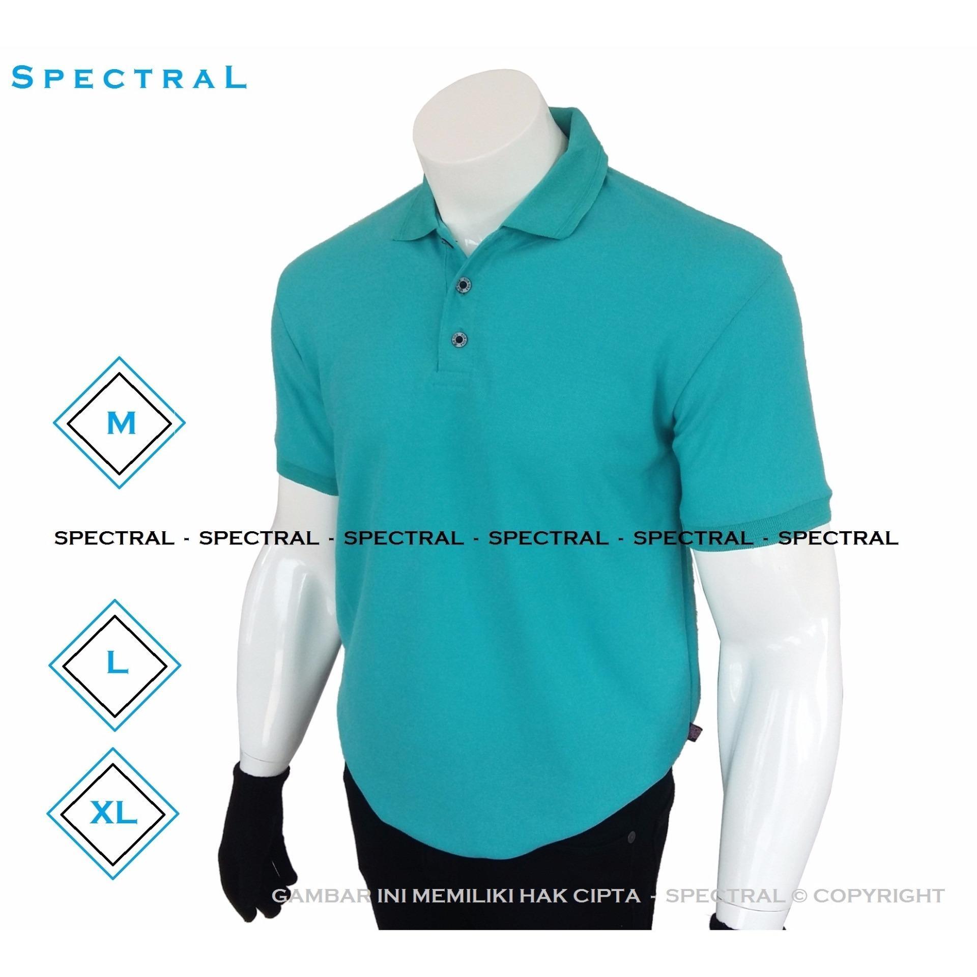 Hot Deals Spectral Polo Shirt Polos M L Xl Lengan Pendek Baju Kaos Pria Kartun Kerah Pakaian Berkerah Atasan