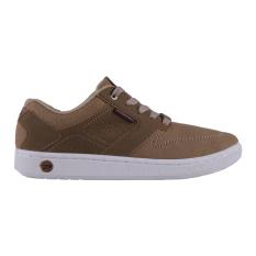 Spotec Inverto Sepatu Sneaker - Krem/Coklat Tua