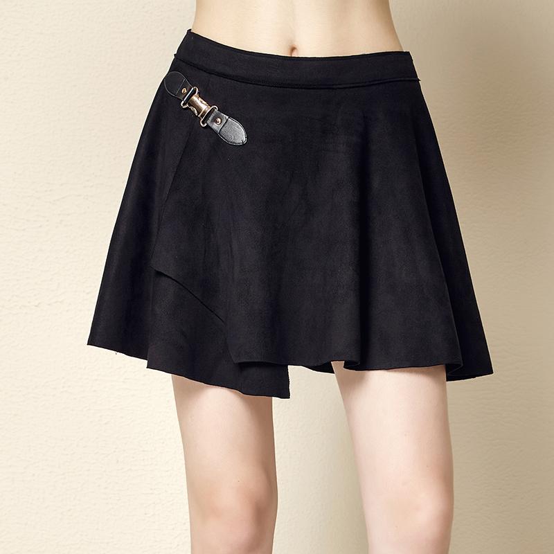 Kebugaran Korea Fashion Style Slim Huruf Tipis Ayat Pendek Bra Dibungkus Dada (Huruf hitam). Source · Suede beludru lipit rok payung culottes hitam ( Hitam)