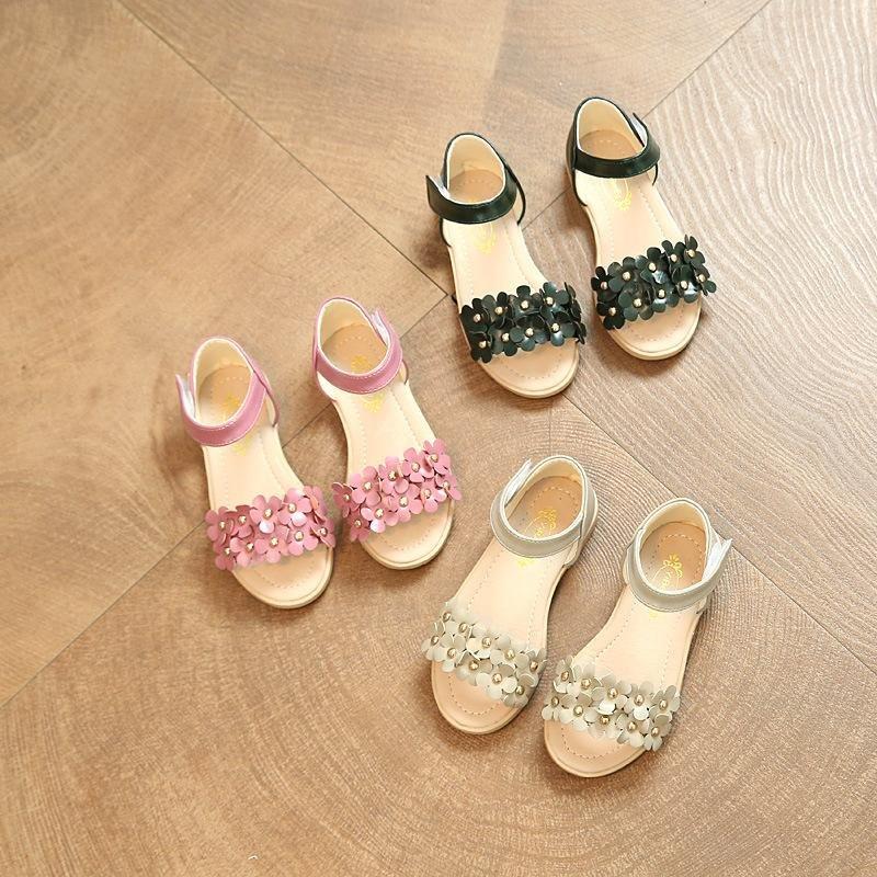 Megumi Sandal Anak Iris Cream Daftar Harga Terlengkap Indonesia Source · Summer girl little flower sandals