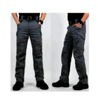 Swiss hunter - Blackhawk tactical cargo celana panjang - Dark Grey