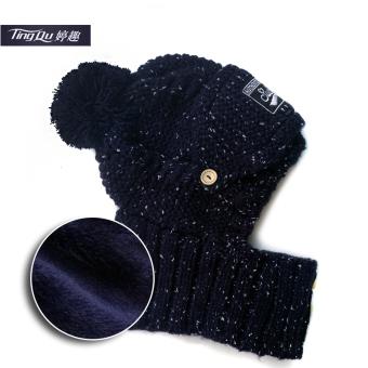 Perbandingan harga Tambah Beludru Satu Potongan Bao Ai Topi Katun Topi (Biru) Terbaik Murah